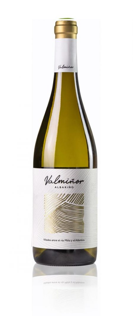 Botella de Valmiñor Albariño