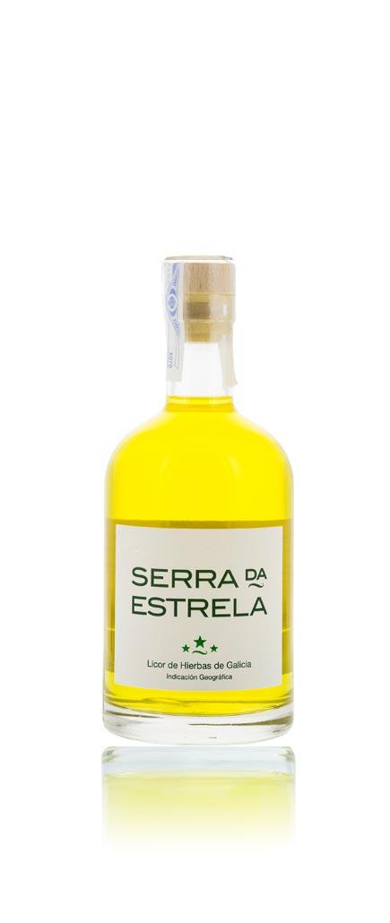 Botella de Licor de Hierbas Serra da Estrela